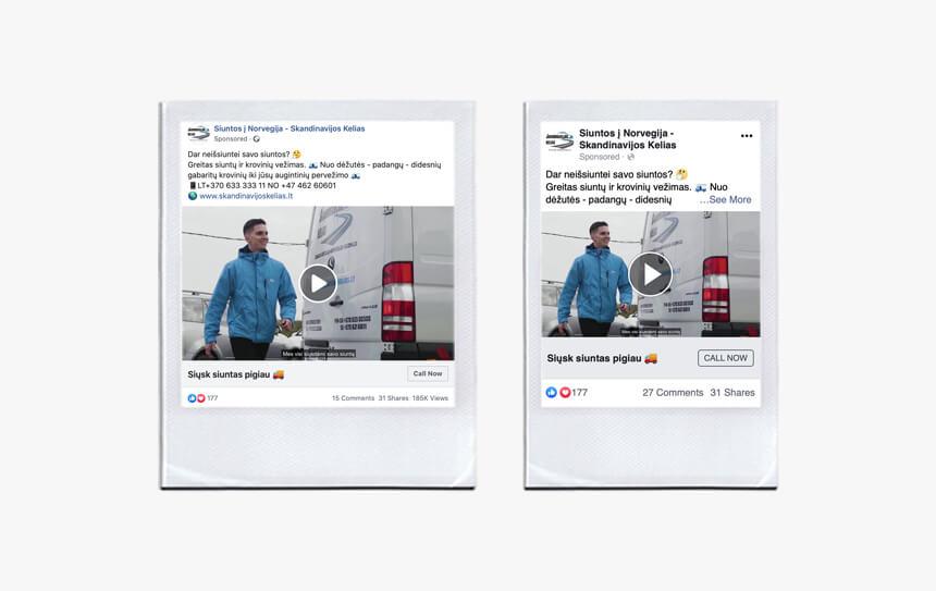 facebook marketingas