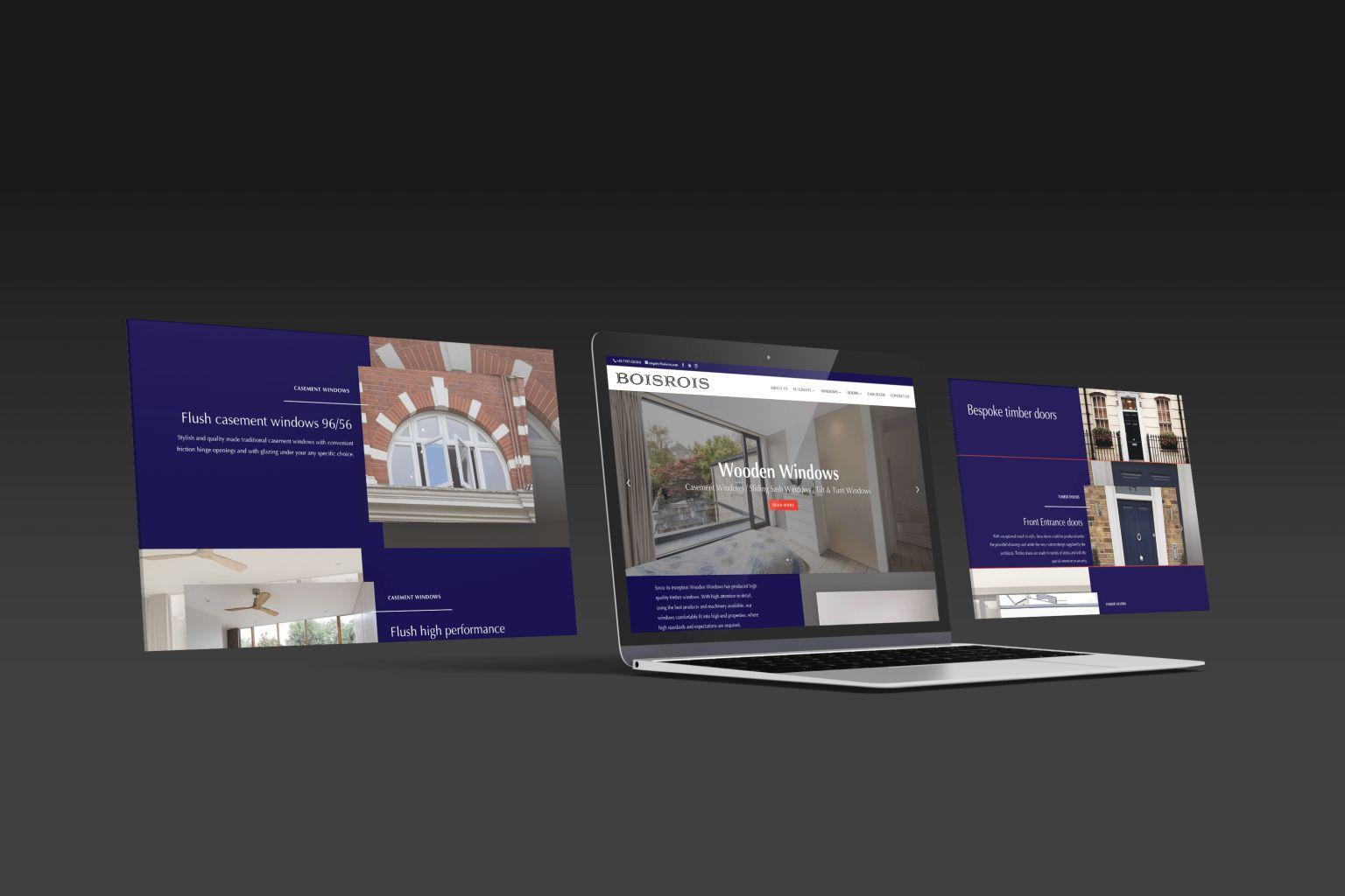 svetainiu web dizainas