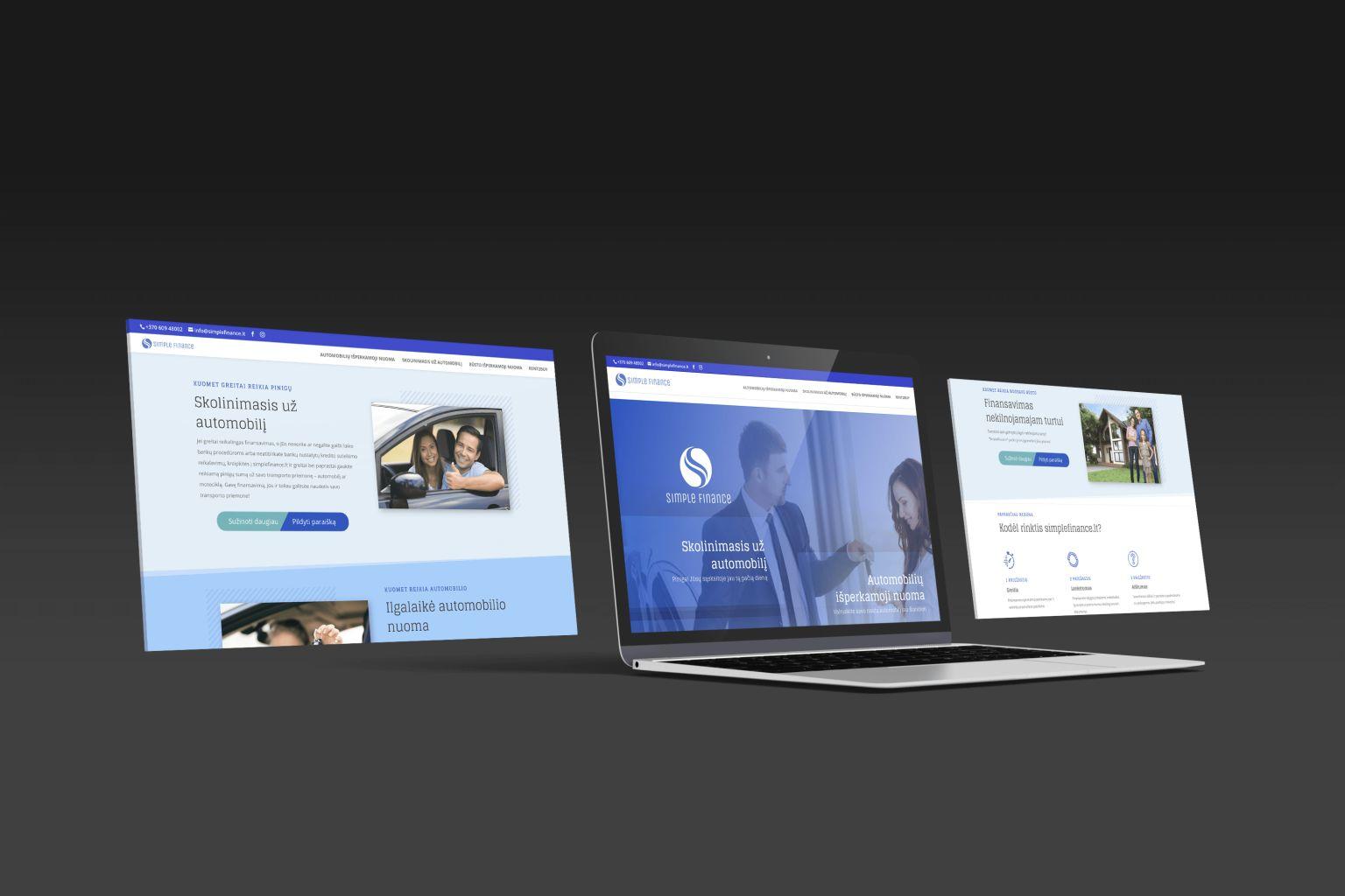 web svetaines tinklapiu kaina